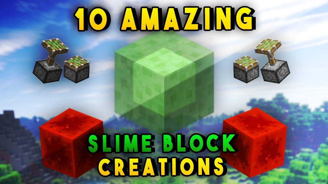 10 Amazing Slime Block Redstone Creations In Minecraft ...