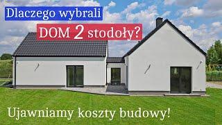 Sprytny DOM Dwie Stodoły! Mają WYSOKI salon i 3 sypialnie! Ile kosztowała budowa EKO domu 120 m2