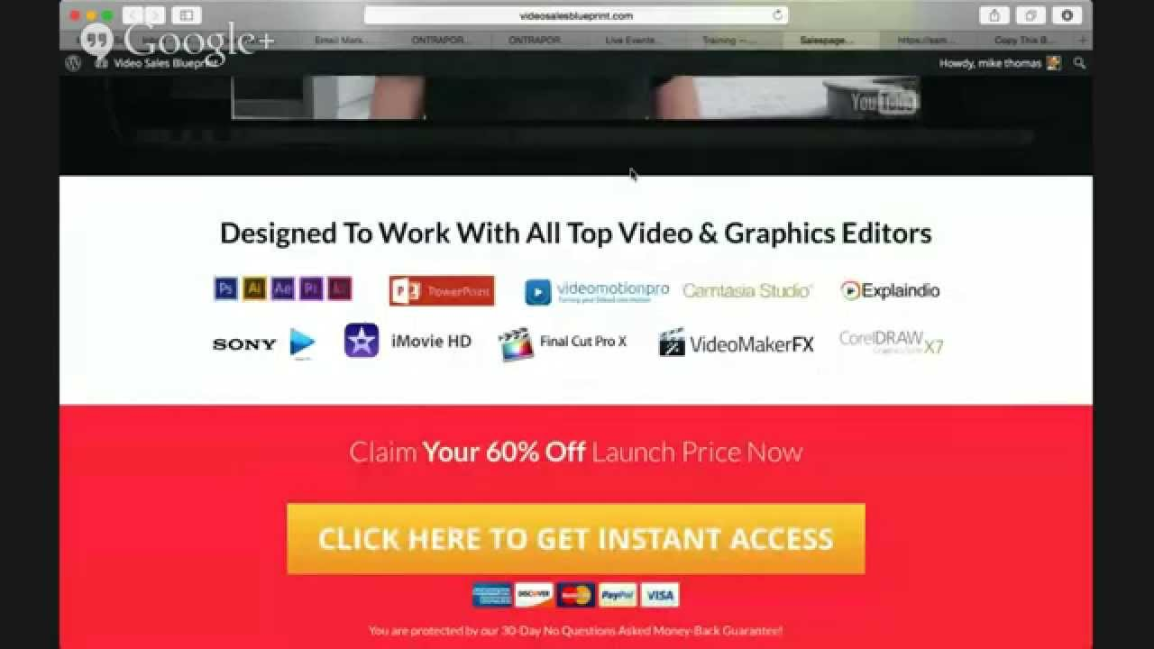 Video sales blueprint review and bonus youtube video sales blueprint review and bonus malvernweather Images
