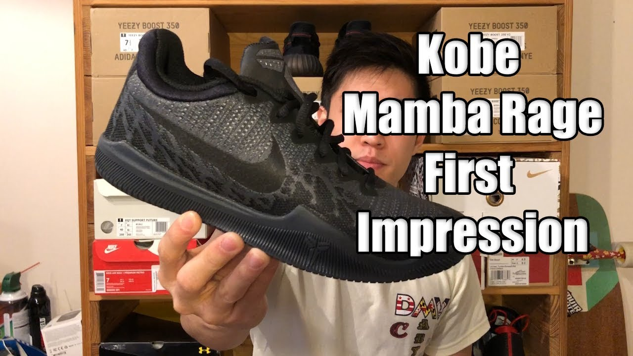 c7a8cd0e39ef0 Nike Kobe Mamba Rage Review   First Impression - YouTube