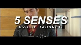 5 SENTIDOS || 5 SENSES Dvicio, Taburete (Lyric video in English) ♡