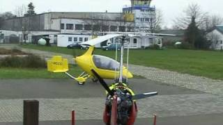 My AutoGyro Calidus - first flight
