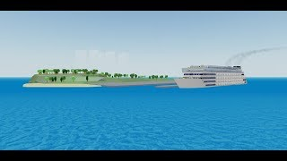 Osprey Class roblox Cruise Ship Tycoon First build Part 3