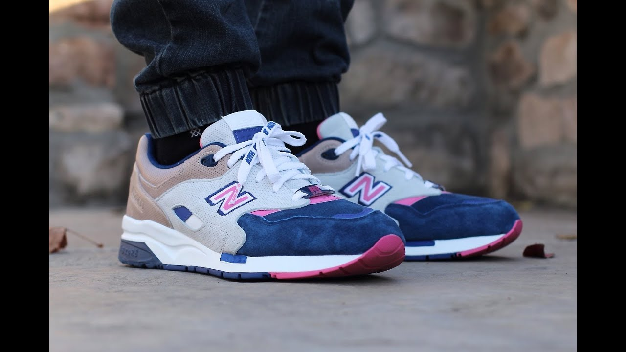 new balance 1600 on feet