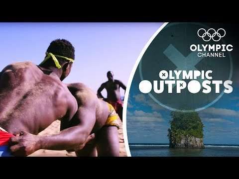 Cain Velasquez discovers Senegalese Wrestling in Africa | Olympic Outposts