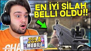 ZULA MOBİLE EN İYİ SİLAHI BELLİ OLDU!!