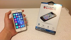 ZAGG Invisible Shield HD Unboxing + Installation for iPhone 5S Gold