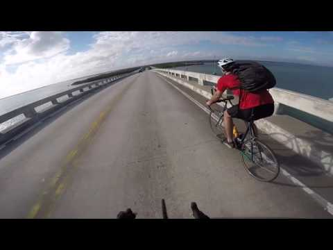 Cycling in Key Largo with the Guys