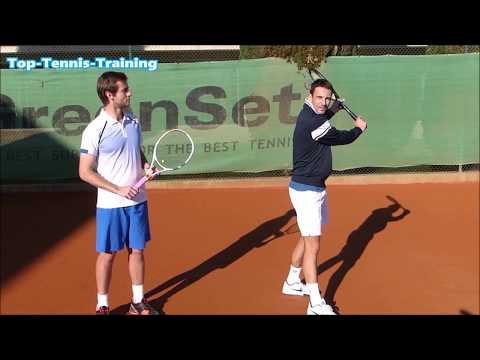 One Handed Backhand Lesson With Tommy Robredo