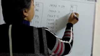 Fast trick to learn multiplication table from 12 to 19 without using calculator