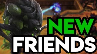 Heroes of the Storm (HotS) | NEVER ENDING | Abathur Gameplay ft. Sinvicta