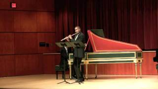 Sonata in B minor, Mvt 3-4   James Miller, Flute   Robert Rocco, piano