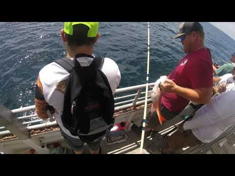 William's Party Boat Galveston 12Hr Snapper Trip