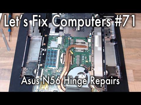 LFC#71 - Asus N56 Hinge Repairs