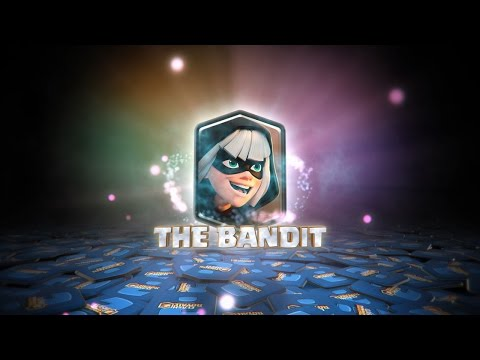 Thumbnail: Clash Royale: THE BANDIT'S BATTLE SKILLS! (New Clash Royale Card!)