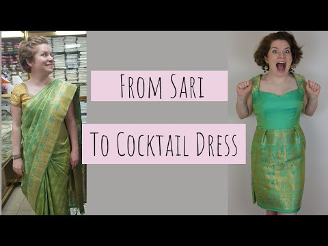 recycling-a-sari-into-a-prom-dress!-couture-finishing-techniques