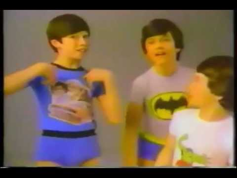 Underoos Underwear 1982 Commercial