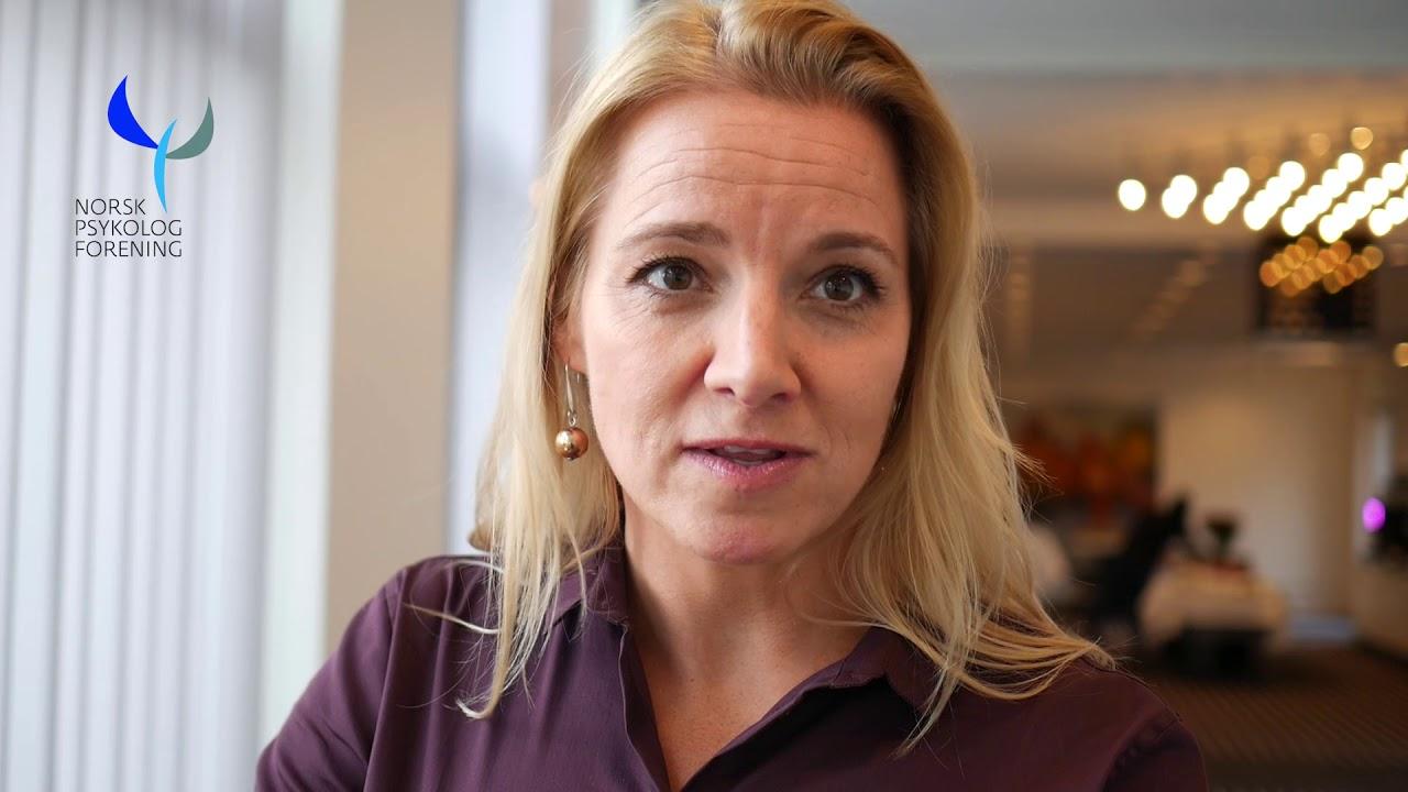 Visepresident i Psykologforeningen, Heidi Tessand.