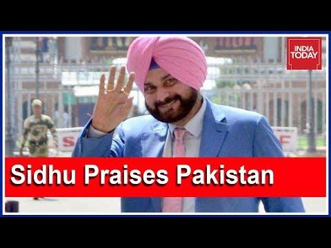 Navjot Singh Sidhu Praises Pakistan; Says Travel To Pakistan Better Than Visit To South India