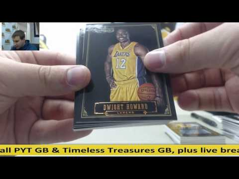 2012-13 Panini Timeless Treasures 10-Box Random Team GB - Jimmy Butler 1/1 Auto!!