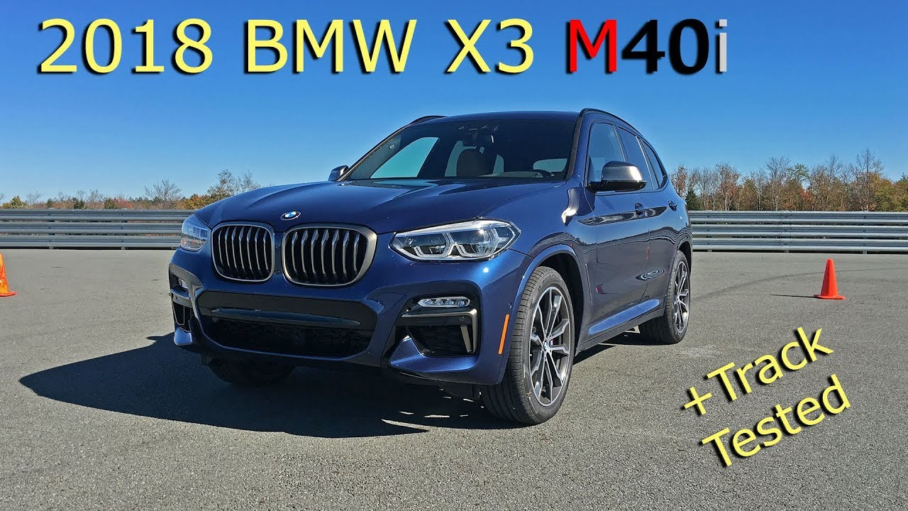 2018 bmw x3 m40i g01 tested on track review youtube. Black Bedroom Furniture Sets. Home Design Ideas