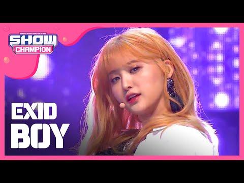 Download lagu Show Champion EP.224 EXID - BOY Mp3 terbaik
