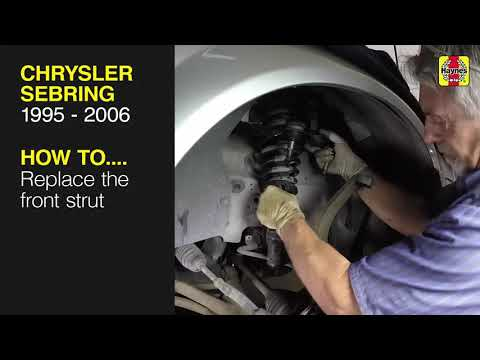 How to Replace the front strut on the Chrysler Sebring 1995 – 2006