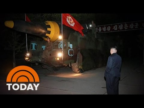 North Korea Missile Launch Shown In New Images | TODAY