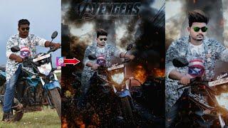 Avengers Movie Poster Bearbeiten | Picsart Editing Tutorial | Real Cb Bearbeitungen | Feuer Hintergrund Ändern