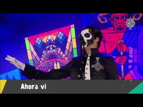 """GHOST  """"HE IS""""  Live at Lollapalooza Chile 2016"""