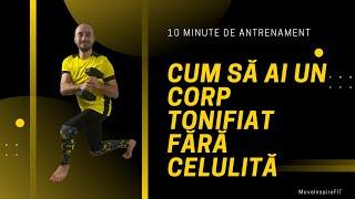 Exerciții fizice pentru pielea lăsată și celulită // MoveInspireFIT // Ziua 6
