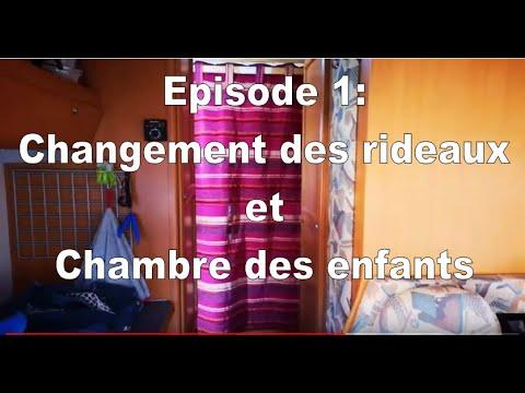 Relooking De L Interieur Du Camping Car Partie 1 Youtube