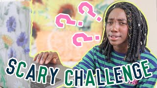 Scary Challenge and Animated Horror Stories Reactions!