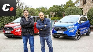 Ford EcoSport 2019 SUV | ¿Gasolina o Diesel? | Prueba / Test / Review en español | coches.net