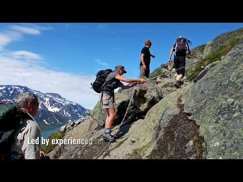Traverse of the Jotunheimen in Norway with KE Adventure Travel