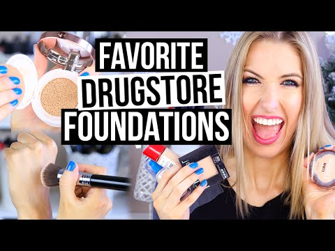 beginner makeup guide  drugstore foundations faves  youtube