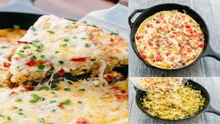 Breakfast casserole with bacon and hash browns  breakfast casserole  bacon and hash browns