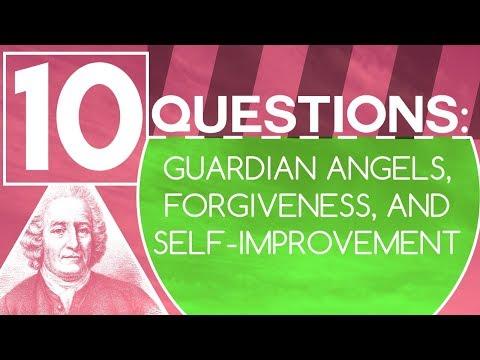 10 Questions: Guardian Angels, Forgiveness, and Self-Improvement