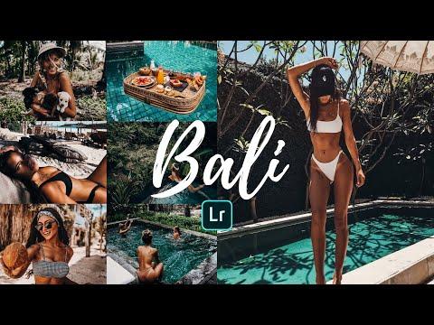 BALI Preset - Lightroom Mobile Tutorial | Free DNG | Photo Editing