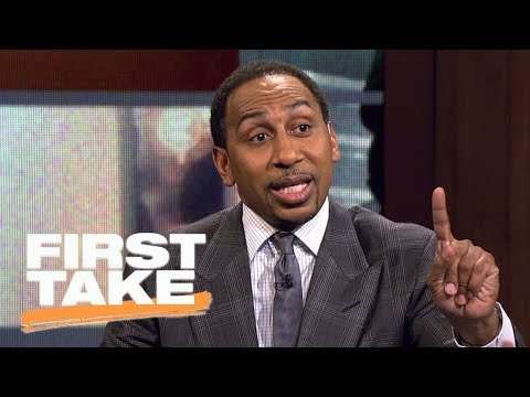 Stephen A. Smith defends Kyrie Irving's cryptic answers from interview | First Take | ESPN