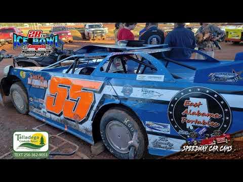 #55 Ryan King - 602 Sportsman - 1-6-19 Talladega Short Track - In Car Camera