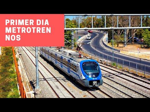 Metrotren Nos | Primeros Viajes en Xtrapolis Modular