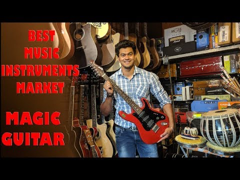 Cheapest Musical Instruments Guitar,violin,Piano Wholesale/Retail Market In Daryaganj