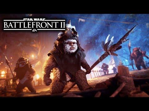 EWOK HUNT TRAILER - Star Wars Battlefront 2 April Update