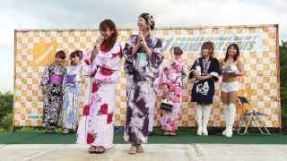 2013年8月3日 D1GP Rd.3 エビスサーキット ギャルオンステージ 浴衣編 ...