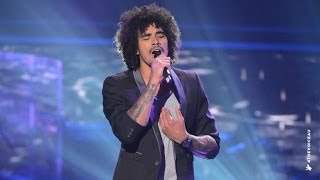 Johnny Rollins sings All Of Me | The Voice Australia 2014