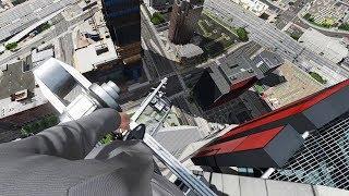 GTA 5 First Person Falling Episode 2 (Euphoria Showcase)