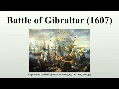 Battle of Gibraltar (1607)