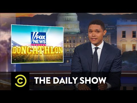 Thumbnail: Doncathlon - Fox News Defends the Indefensible Donald Trump Jr.: The Daily Show