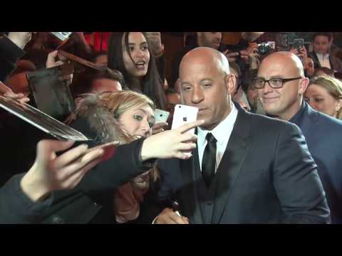 Fast And Furious 8: red carpet with Vin...